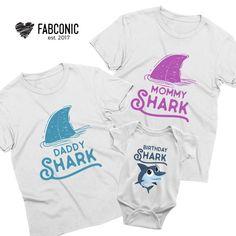 Baby Shark Doo Doo T-Shirt Mummy Daddy Family BabyGrow Romper Suit Funny Gift