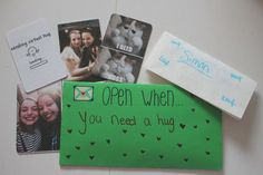 DIY: Open when letters ! - Be creative