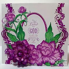 Wherever I Go - created w/ the Sweet Peony Collection from Heartfelt Creations -  #HeartfeltCreations #papercraft #cardmaking #card #scrapbooking  #scripture #religious #encouragement #thinkingofyou #anyoccasion