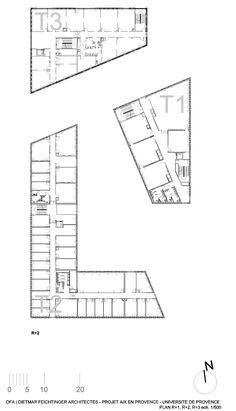 Gallery of Université de Provence in Aix-en-Provence Entension / Dietmar Feichtinger Architects - 37