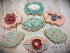 Deco vintage cookies