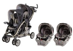 Graco Quattro Tour Duo Baby Stroller & SnugRide 35 Twin Travel System – Vance. Details at http://youzones.com/graco-quattro-tour-duo-baby-stroller-snugride-35-twin-travel-system-vance/