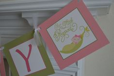 Pea In A Pod Baby Shower Banner  Welcome by SweetEPaperBoutique, $25.00