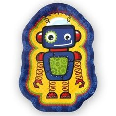 robot baby shower supplies | Robots - Dinner Plates - 8 Qty/Pack - Baby Shower Party Supplies ...