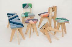 Onlangs schreven we al over het duurzame project Windworks van Merel Karhof. Een collectie gestoffeerde meubels, waarvan zowel het hout, de verf als het breien van de stoffen is vervaardigd met de onuitputtelijke en gratis energiebron: de wind. Het project is een samenwerking in de Zaanse Schans tussen verfmolen 'De Kat', houtzaagmolen 'Het Jonge Schaap' en de Wind Knitting Factory. Kijk op: Gimmii.nl