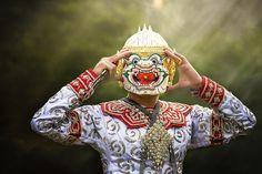 """Hanuman """"Khon-Thai classical"""""""