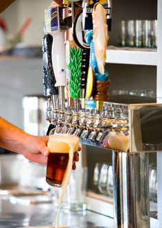 Enjoy one of the best craft beer selections in the Southeast, featuring a wide variety of Alabama breweries. Over one hundred beers to choose from, with weekly draft rotations based on the best in season.
