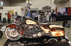custom harley road king beach bars - Google Search