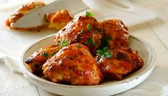 Rooibos Chilli Soaked Chicken Thighs