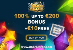 Don't miss out on the chance to power up your play at Video Slots. Get power bonus of 100% up to €200 plus €10 free.   Sign up now  https://bit.ly/2rpIBEF  #Videoslots #onlinecasinogames #onlinecasinobonus #onlinecasino #slots #Dharamraz
