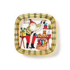 Embrace the holiday season with the Old St. Nick Limited Edition Platter, handpainted by maestro artisan Alessandro Taddei. Signed and numbered by Alessandro, this beloved piece is for collectors who believe in the magic of Christmas and creating special memories with loved ones.