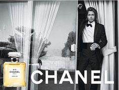Brad Pitt Chanel Fake Ad