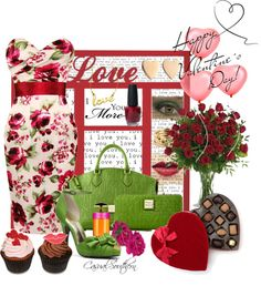 """""""Happy Valentine's Day"""" by casualsouthern ❤ liked on Polyvore"""