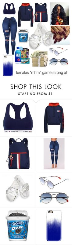 """""""Tommy Hilfiger❣️💙❕❕"""" by majesticqveenn ❤ liked on Polyvore featuring Tommy Hilfiger, Puma and Casetify"""
