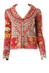 Ivko-Elaborately woven cotton clothing with retro/folk patterns, feminine cuts & beautiful colour schemes.