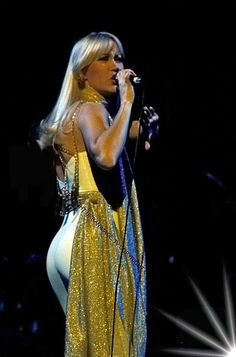 Agnetha Fältskog, ABBA live 1977