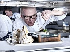 Heston Blumenthal's unique sensory dishes have made his one of the world's most notorious chefs. Figure 1