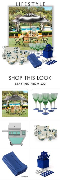 """""""Hamptons Dining"""" by fowlerteetee ❤ liked on Polyvore featuring interior, interiors, interior design, home, home decor, interior decorating, Ballard Designs, Williams-Sonoma, 222 Fifth and Saro"""