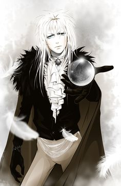 Jareth (I feel like this would be more accurate if someone stuffed some plums down his pants)