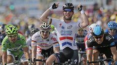 Mark Cavendish winner of stage 5 Tour de France 2013