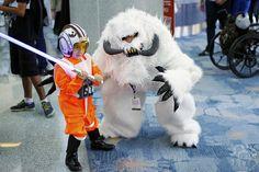 Rebel Kid Pilot vs Wampa