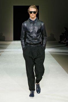 Giorgio Armani Spring Summer 2015 Menswear Collection
