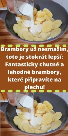 Potato Recipes, Snack Recipes, Cooking Recipes, Snacks, Slovak Recipes, Food And Drink, Potatoes, Menu, Homemade