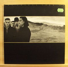 U 2 - The Joshua Tree - Vinyl LP - With or without you - I still havent found...