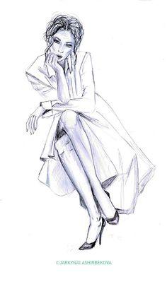 APARTMENT57 fashion illustration