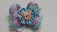 Tutorial como hacer Lazos pequeños Escolares de liston,Hair Bows Ribbons