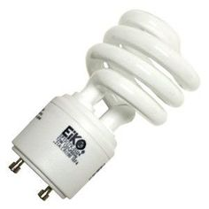 EIKO - SP18/27K-GU24 18W GU24 2700K Base Spiral Compact Fluorescent Dimmable Bulb