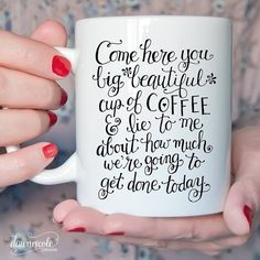 ☕️ Coffee Talk, Coffee Is Life, I Love Coffee, Coffee Shop, Coffee Cups, Tea Cups, Coffee Coffee, Coffee Beans, Coffee Lovers