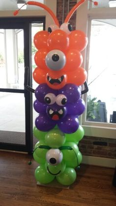 Baby Monster Bash  Design by Vicki Bannister and Patricia Guillen of Omni Productions Inc. Balloons by Stella and Gustavo Curvelo
