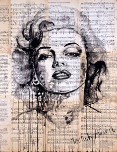 Marlin Monroe by KrzyzanowskiArt.deviantart.com on @DeviantArt