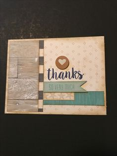 There really were NO WORRIES with this last challenge. This paper pack is divine! I used the layout from NO WORRIES Cardmaking WYW (I reversed it) along with said stamp set & another thank you card is ready to send.