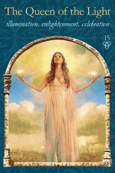 The queen of the light - Psychic Tarot #oracle Cards by Colette Baron-Reid