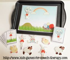 Easter Speech Therapy Activities
