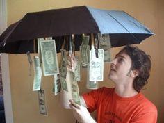 1- de l'argent dans vos cartes de vœux
