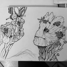 Groot drawing, what do you think guys?