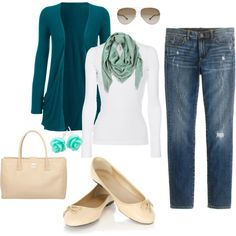 """Casual outfit"" by idea-floral on Polyvore"