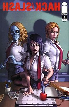 Hack/Slash (2nd Series) #5B VF/NM ; Image comic book