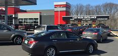 Whether you're a franchise or non-branded operator, Tommy Car Wash Systems has proven, patented building models to suit your needs. Roof Design, Wall Design, Interior Car Wash, Express Car Wash, Car Wash Systems, Menu Signage, Automatic Car Wash, Tower House, Roofing Systems