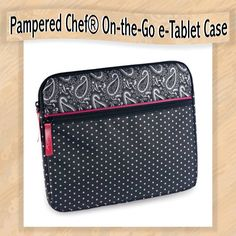 Pampered Chef On the Go e-Tablet Case. www.pamperedchef.biz/lillymountain