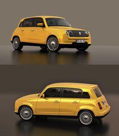 A famosa Renault 4 L está de volta e é simplesmente GENIAL! - Notícias - Notícias - Vamos lá Portugal - Futebol, noticias, videos, comedia e muito mais.