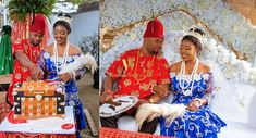 #Siant1617! SEE Nkiru & Sylvester's Peacock Themed Traditional Wedding Planned By Class Eventz   Xtian's Imagery