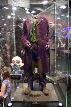 Original Heath Ledger Joker Costume  Bank robbery clown mask