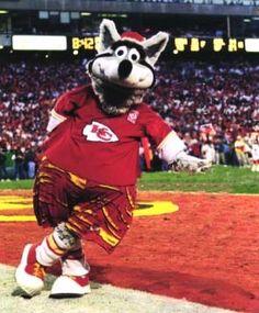 Kansas City Chiefs Mascot – KC Wolf