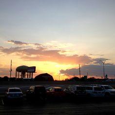 Abilene,Tx sunset.