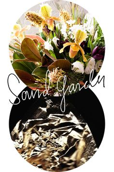 """Flowers inspired by the cover of Rogue Wave's """"Asleep at Heaven's Gate"""" album"""
