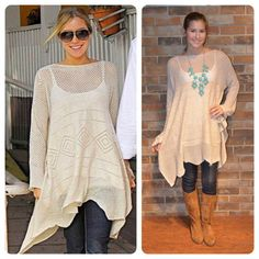 Kristin Cavallari! This sweater is now back in stock!